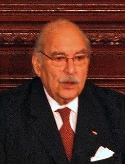 Fouad Mebazaa Tunisian politician