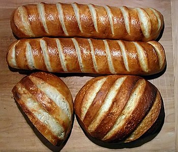 Four loaves.