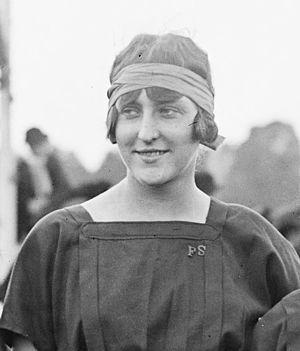 1921 Women's Olympiad -  Frédérique Kussel