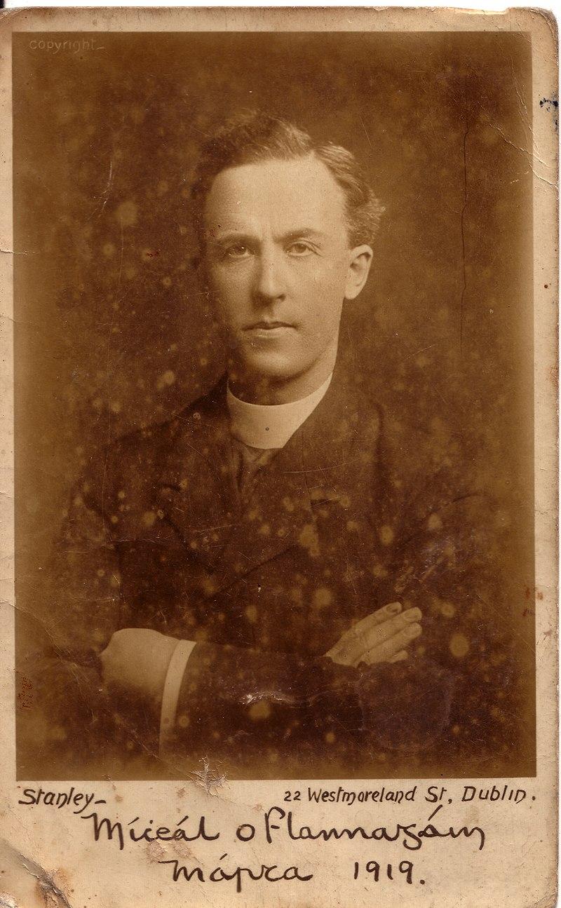 Fr Michael O'Flanagan postcard, 1919.jpg