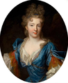 Françoise Marie de Bourbon, wife of Philippe d'Orléans and daughter of Louis XIV of France by Pierre Gobert.png