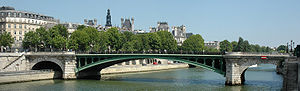 Pont Notre-Dame - The Pont Notre-Dame in Paris.