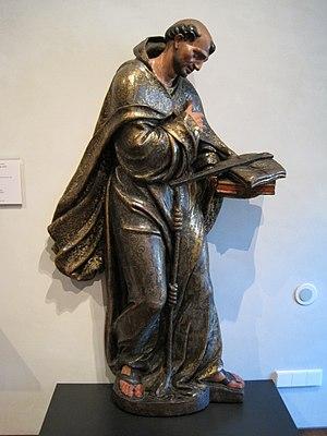 Español: San Francisco de Asís (1550), obra de...