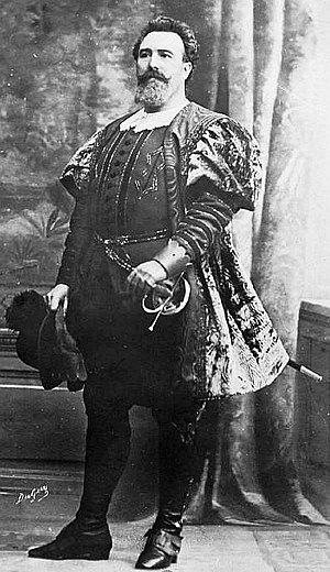 Jean-François Delmas (bass-baritone) - Francisque Delmas in Patrie ! by Émile Paladilhe en 1907