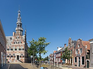 Waadhoeke Municipality in Friesland, Netherlands