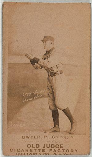 Frank Dwyer - Image: Frank Dwyer baseball card