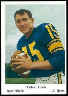 Frank Ryan (American football) American football quarterback