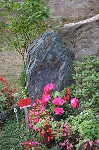 Frankfurt, Hauptfriedhof, Grab Alfred Schmidt.JPG