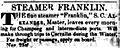 Franklin (sidewheel steamboat) ad 1855.jpg