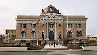 Pasco, Washington - The Franklin County courthouse in Pasco.
