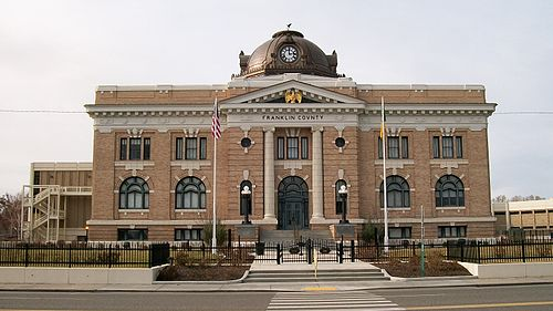 Franklin County Courthouse in Pasco, Washington