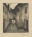 Frans Nackaerts - In de Schlachtstraat - Graphic work - Royal Library of Belgium - S.III 80100.jpg