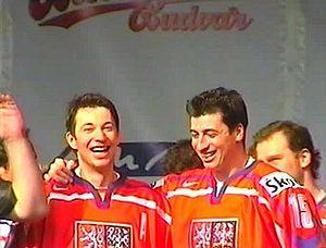 František Kaberle - Image: František Kaberle and Tomáš Kaberle