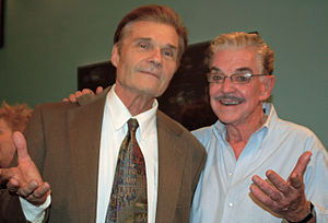 Jack Betts - Betts with Fred Willard in November 2010