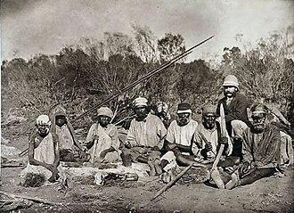 Paakantyi - Image: Frederic Bonney in Australia