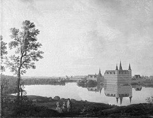 Erik Pauelsen - Image: Frederiksborg 1786 by Erik Pauelsen