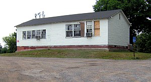 Free Hill, Tennessee - The old Free Hills Rosenwald School at Free Hills Community Park