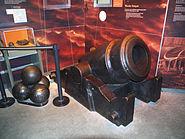 French mortar 1758 CWM 1