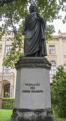 Schelling-Statue in München (Quelle: Wikimedia)