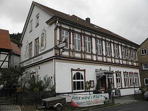 Brauhaus mit Pension in Friedrichroda in Thüringen