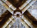Fuensaúco - Iglesia de Nuestra Señora de los Ángeles - Bóveda del crucero - Clave.jpg