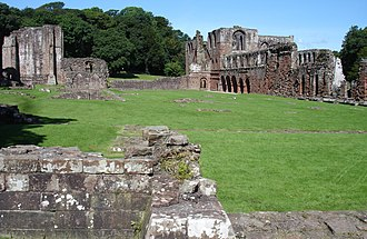 Furness Abbey - The abbey in August 2007