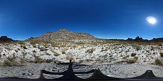 Cape Floristic Region - Image: Fynbos 18 months after fire 360 degree photo