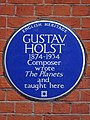GUSTAV HOLST 1874-1934 Composer wrote The Planets and taught here.jpg