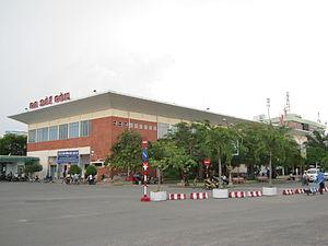 Saigon railway station - Image: Ga Sài Gòn