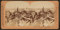 Galveston Disaster, Carting away dead body to fire, from Robert N. Dennis collection of stereoscopic views.png
