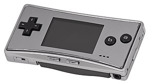 Game Boy Micro - Image: Game Boy Micro