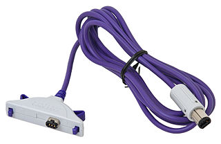 GameCube – Game Boy Advance link cable video game console accessory for the GameCube