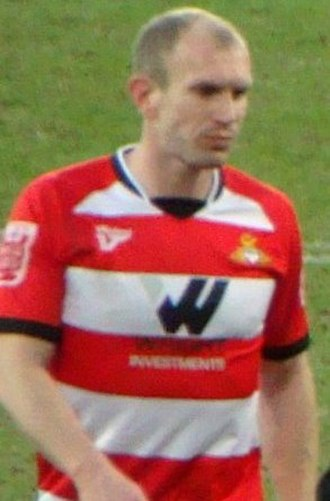 Gareth Roberts (footballer) - Roberts playing for Doncaster Rovers