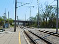 Gary Chicago Airport at Clark Road station (26580093391).jpg