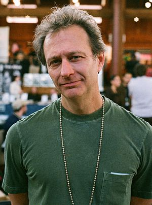 Gary Groth - Groth at the 2007 Alternative Press Expo