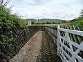 Gated footpath, Warcop Station (geograph 5011864).jpg
