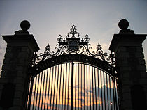 Gates to Francis Field - Danforth Campus of Washington University in St. Louis.jpg