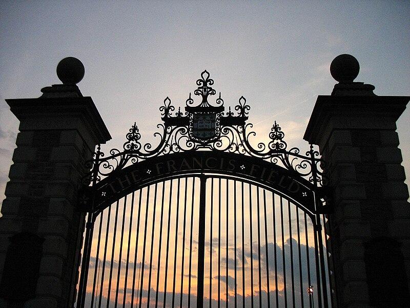 Gates to Francis Field - Danforth Campus of Washington University in St. Louis.jpg