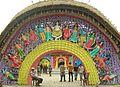 Gateway (outside) 25 Palli 2010 Arnab Dutta.JPG
