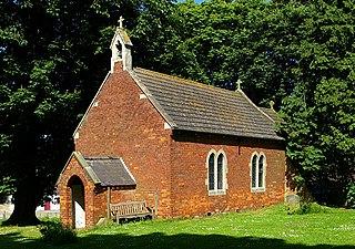 Gayton le Wold village in the United Kingdom