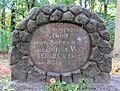 Gedenkstein John-Foster-Dulles-Allee (Tierg) Gefreiter Will.JPG