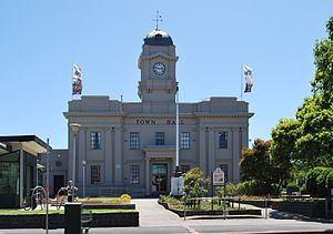 Geelong West, Victoria - The former City of Geelong West Town Hall