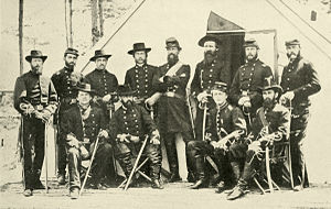 George Stoneman - Image: General Stoneman&Staff