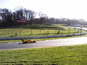 Brands Hatch - General Testing at Brands Hatch, at the end of the Cooper (back) Straight.