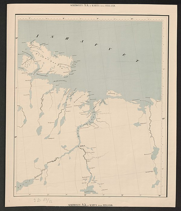 600px general map of the grand duchy of finland 1863 sheet a5