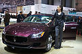 Geneva MotorShow 2013 - Maserati Quattroporte with hostess.jpg