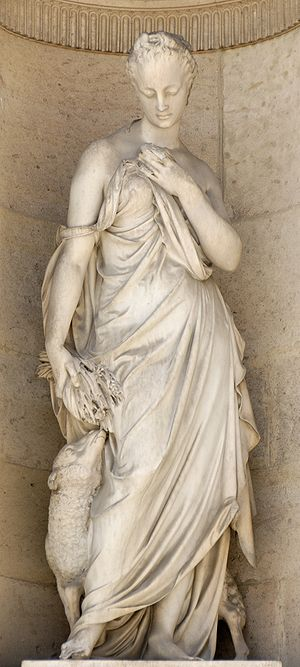 Gentleness (1861), by Jean Marcellin (1821-188...