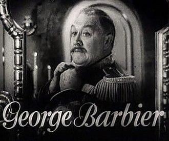 George Barbier (actor) - George Barbier in The Merry Widow trailer