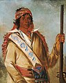 George Catlin - Steeh-tcha-kó-me-co, Great King (called Ben Perryman), a Chief - 1985.66.288 - Smithsonian American Art Museum.jpg