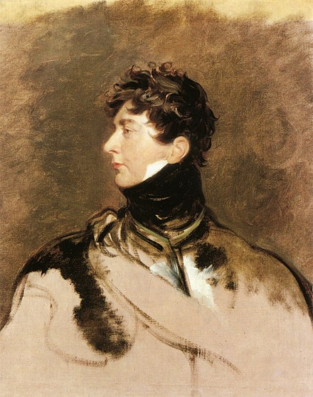 Profile by Sir Thomas Lawrence, c. 1814 George IV by Sir Thomas Lawrence.jpg